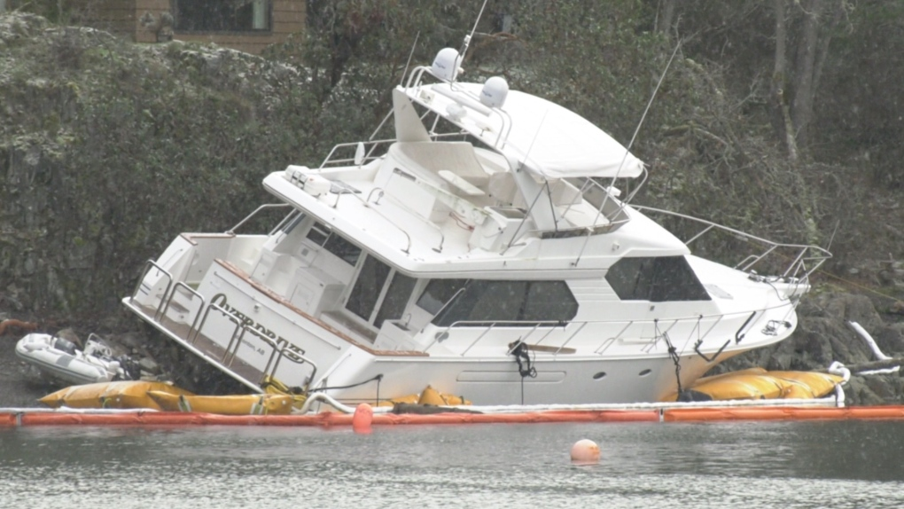 Vancouver Island marina, vessels suffer damage in recent storm