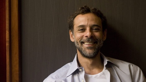 "Actor Alexander Siddig poses for photograph as he promotes his new film ""Cairo Time"" at the Toronto International Film Festival on Tuesday September 15, 2009.  (THE CANADIAN PRESS / Chris Young)"