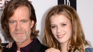 """In this Tuesday, Oct. 7, 2014, file photo, writer/director William H. Macy, left, and Sophia Macy arrive at the Los Angeles VIP screening of """"Rudderless,"""" at The Vista Theater. (Photo by Dan Steinberg/Invision/AP, File)"""