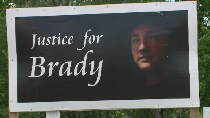 Brady Francis was killed in a hit-and-run collision in Saint Charles, N.B., the night of Feb. 24, 2018.