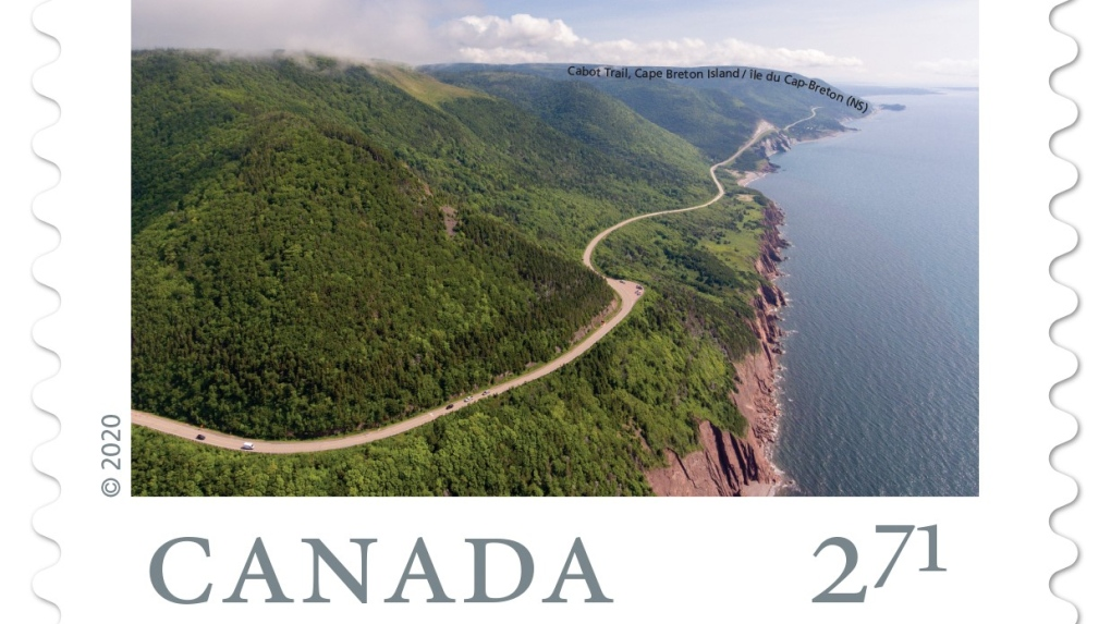 Cabot Trail stamp