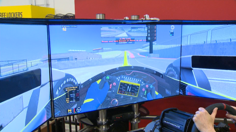 You can feel like an Indy race car  driver at Speeders thanks to exciting new technology.