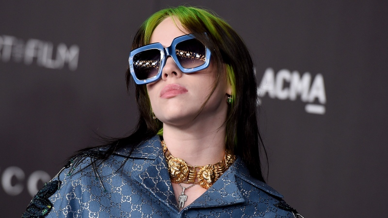 This Nov. 2, 2019 file photo shows singer Billie Eilish at the 2019 LACMA Art and Film Gala in Los Angeles. (Photo by Jordan Strauss/Invision/AP, File)