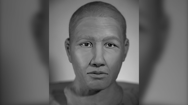 Investigators hoped this facial reconstruction would help them identify the man, whose remains were found on a Nova Scotia beach in September 2019. (Canada's Missing)