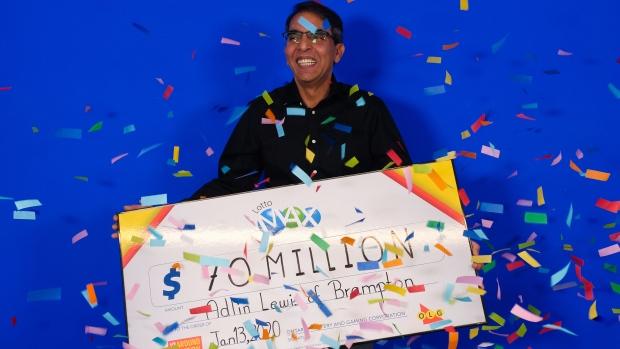 Brampton credit risk manager wins $70-million Lotto Max