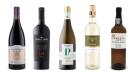 Cathedral Cellar Shiraz 2017, Noble Vines Collection 181 Merlot 2016, Mezzacorona Trentino Riserva Pinot Grigio 2017, Strewn Winery Terroir Sauvignon Blanc 2018, Fonseca Porto White Port