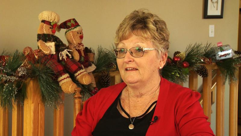 This week's inspired Albertan is Becky Webb. Darrel Janz reports.