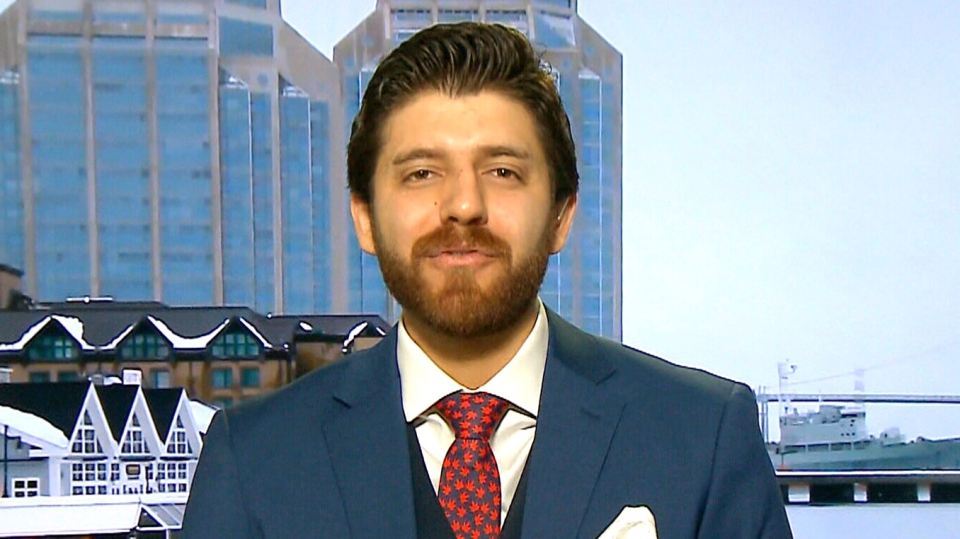 Tareq Hadhad, a Syrian refugee who built his chocolate business from scratch in Nova Scotia after it was destroyed in Damascus, is set to become a Canadian citizen Wednesday, Jan. 15. (CTV Your Morning)