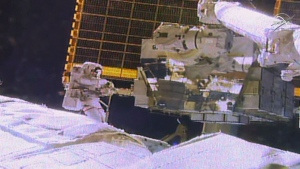 Spacewalk to replace battery outside ISS