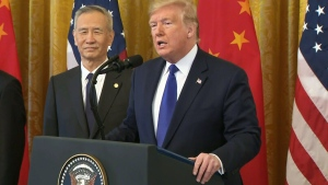 U.S.-China trade deal signing ceremony