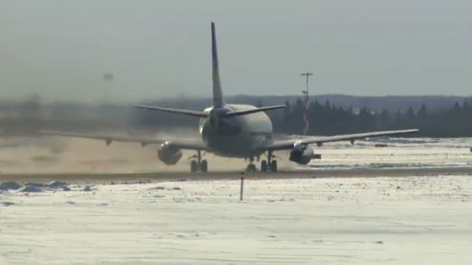 Edmonton International Airport EIA generic snow