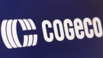 A Cogeco logo is shown in Montreal, Wednesday, January 15, 2020. THE CANADIAN PRESS/Graham Hughes