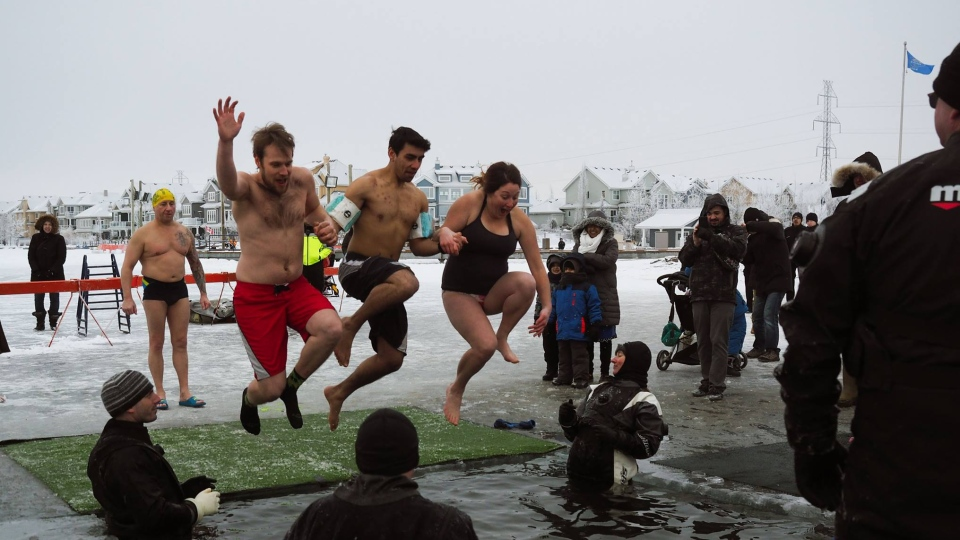 Polar Plunge Special Olympics