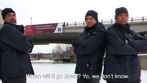 NCC CEO Tobi Nussbaum joins the Rideau Canal maintenance crew for a rap video.