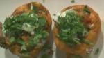 J.C. Garden and CJ Katz make chili stuffed acorn s