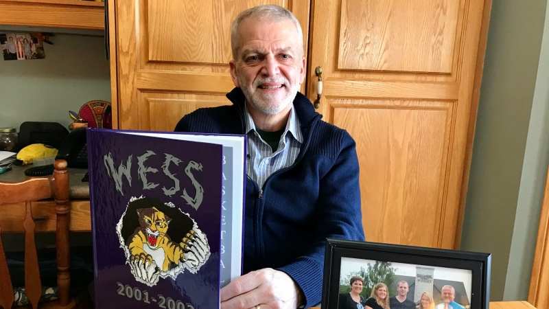 Larry Schneider is pictured as his home in Rodney, Ont. on Wednesday, Jan. 15, 2020. (Sean Irvine / CTV London)