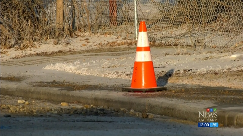Cold means crews dealing with water main breaks
