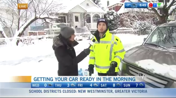 Getting your car ready for a winter drive