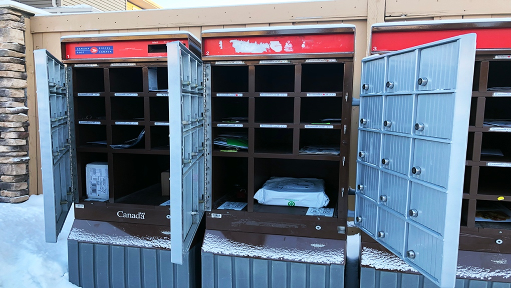 Evergreen Estates mailbox