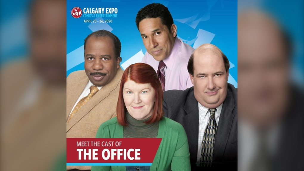 The office cast Calgary expo