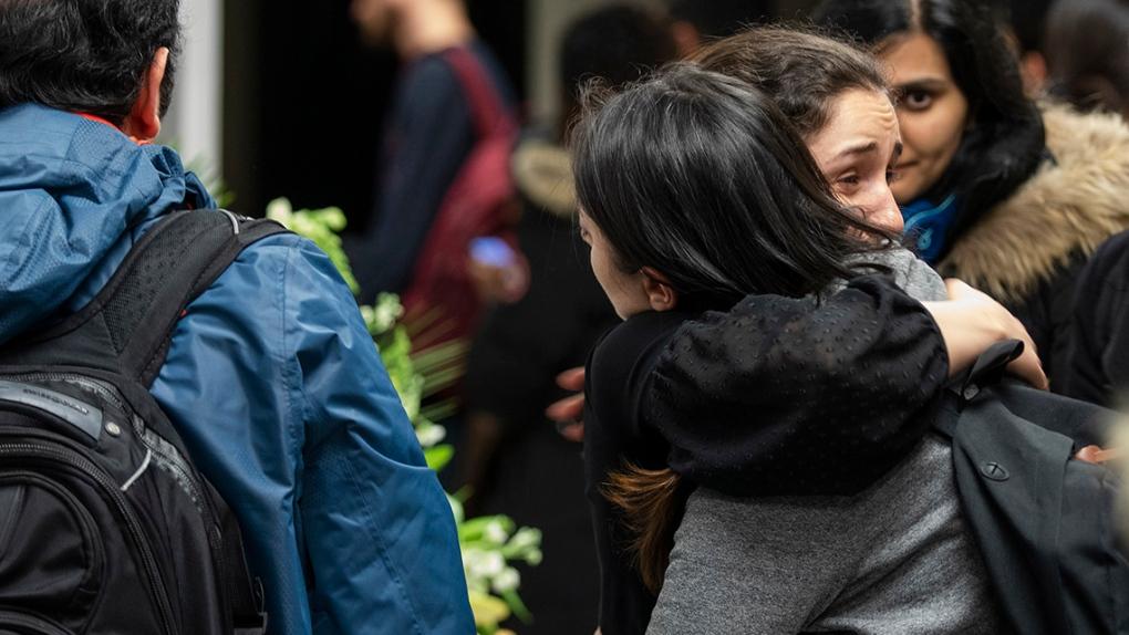 Victims of Flight 752 crash remembered at University of Toronto
