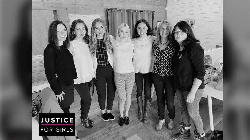 The Vancouver charity Justice for Girls announced on Twitter that Meghan Markle had paid them a visit on Tuesday. (Justice for Girls)
