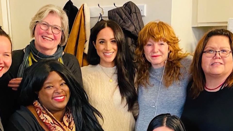 Meghan Markle & DTES women's charity