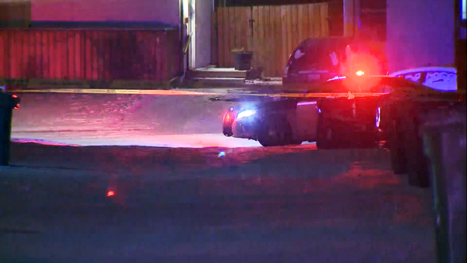 Police responded to a call of shots fired in northwest Calgary Wednesday night.