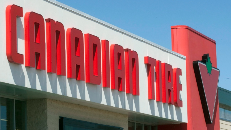 A Canadian Tire store is shown in Levis, Que., Monday, May 9, 2011. THE CANADIAN PRESS/Jacques Boissinot