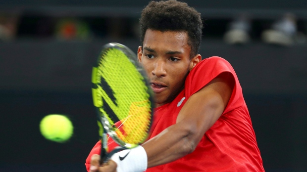 Canada's Auger-Aliassime beats Carreno Busta to reach Rotterdam final