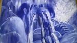 Angelene Humphrey used art to work through grief. (Dana Roberts/CTV Northern Ontario)