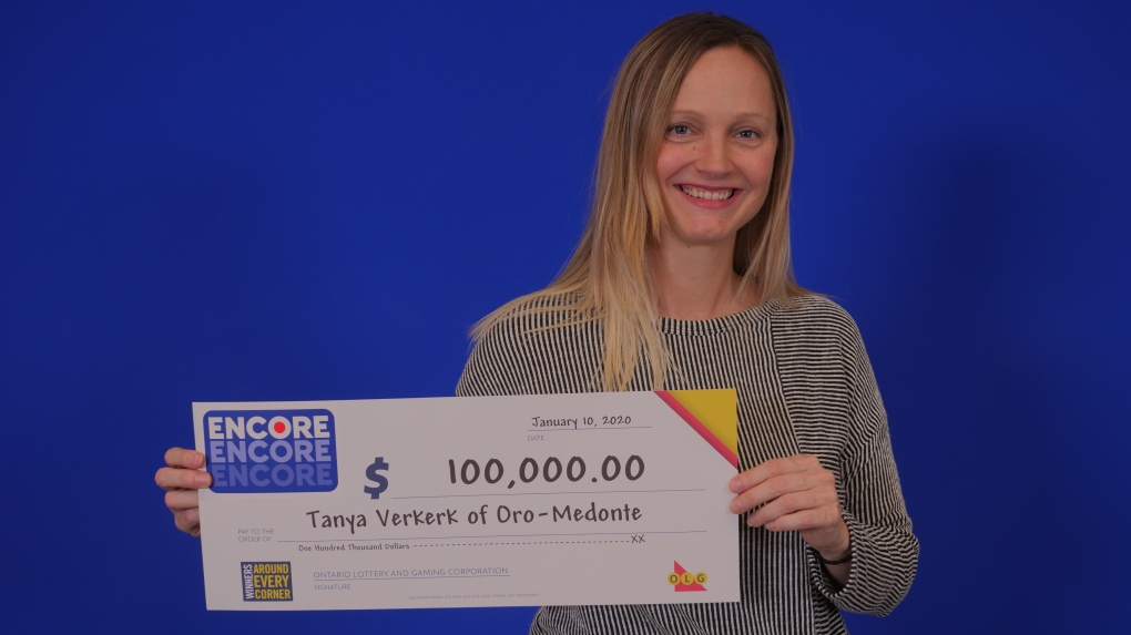 'I couldn't believe it!' Oro-Medonte woman turns $1 into $100,000
