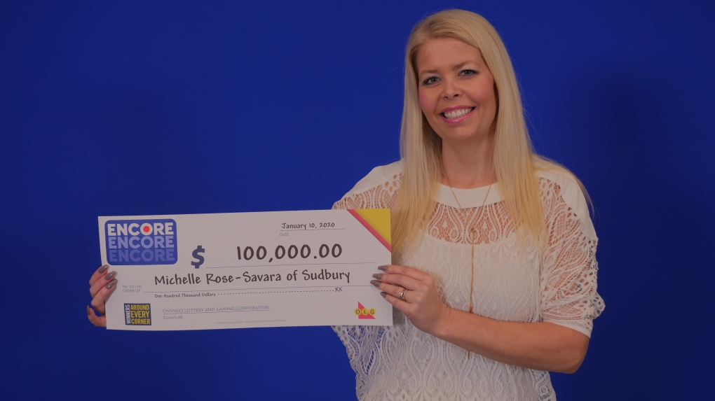 Sudbury woman wins the lottery