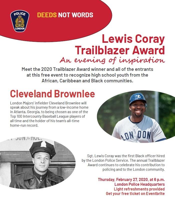Lewis Coray Trailblazer Award
