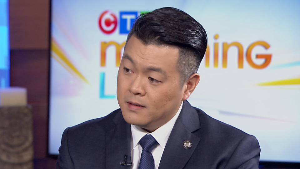 Sgt. Frank Jang of the Integrated Homicide Investigation Team appears on CTV Morning Live in Vancouver on Thursday, Jan. 16, 2020.