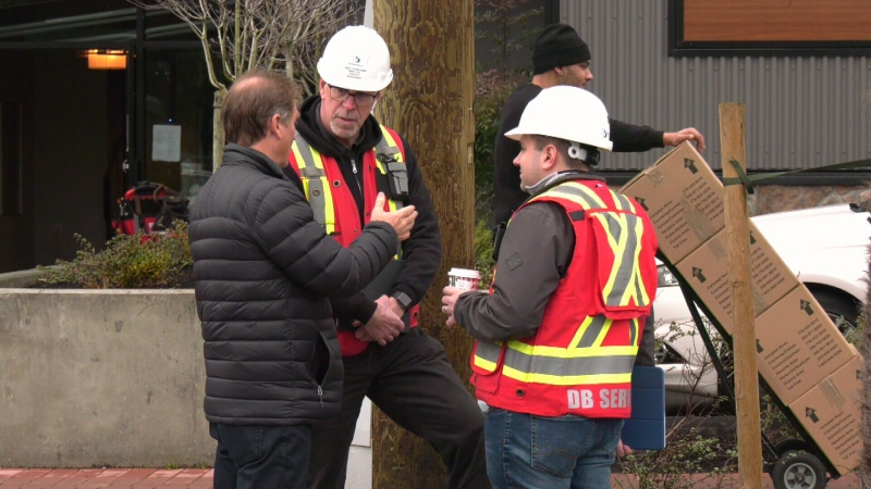 Owner Centurion Property Associates said it does not yet know the extent of repairs needed, nor how long they will take to complete. (CTV Vancouver Island)