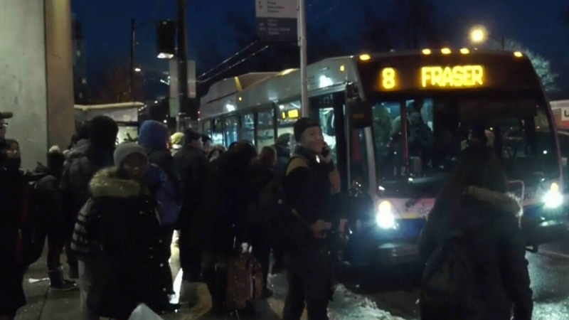 SkyTrain problems cause chaotic commute