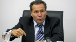 Argentine public prosecutor Alberto Nisman gestures at a May 2009 press conference in Buenos Aires. (AFP)