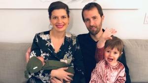 Quebec Deputy Premier Geneviève Guilbault welcomed her second child, a boy named Christophe.