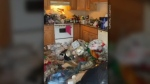 A pair of landlords in Cape Breton say their latest tenant left an apartment in such bad condition, the cleanup could take months, and will cost tens of thousands of dollars. (Submitted: Tim Smith)