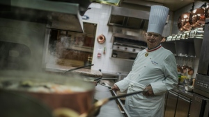 Even before Bocuse's death, some critics had commented that the restaurant was no longer quite up to scratch. AFP
