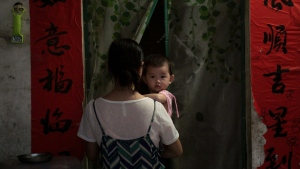 The number of births has now fallen for three consecutive years. AFP.