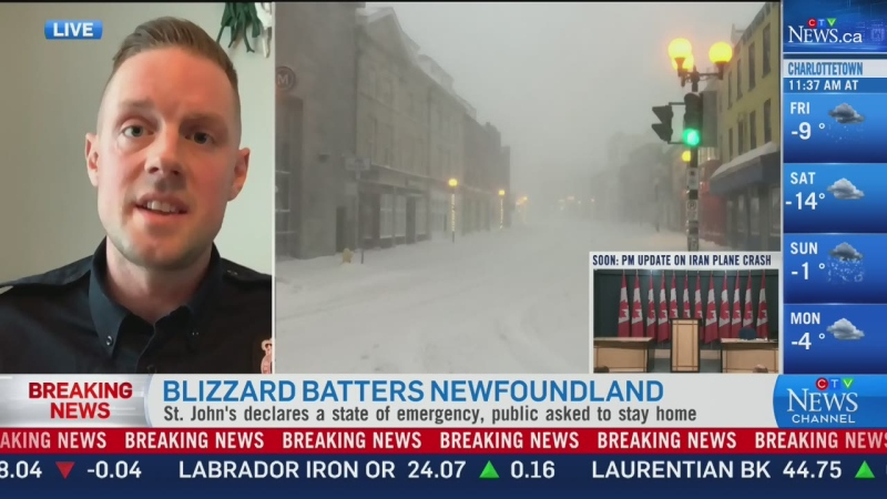 N.L. police: Be prepared for power outages