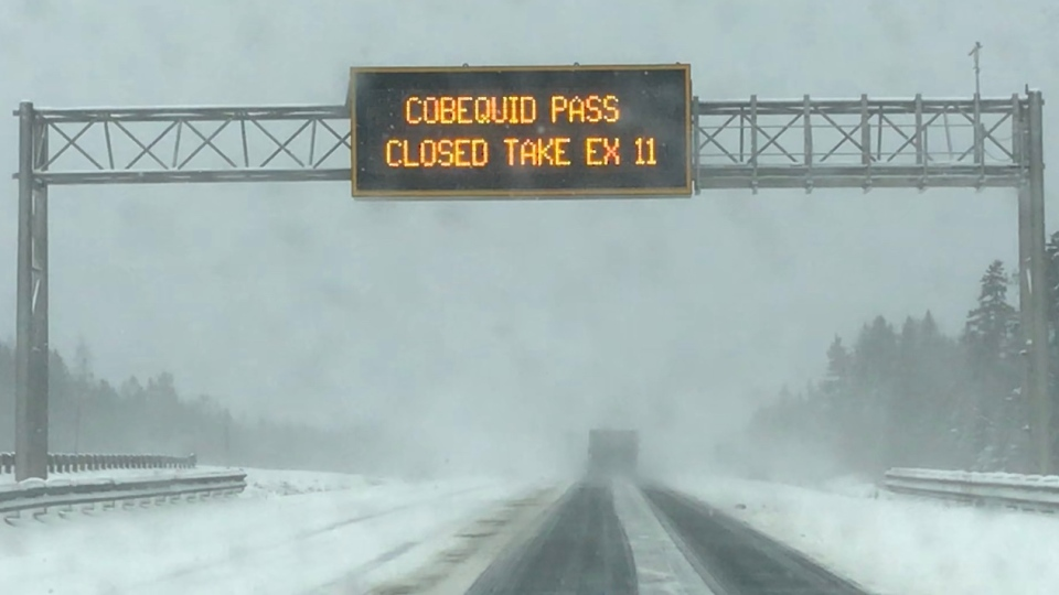 Cobequid Pass