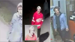 Ottawa Police are searching for three suspects in a break-and-enter in Richmond last October.