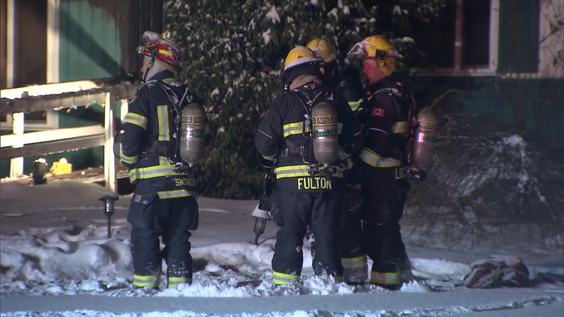 Langley fire crews were called to an early morning house fire on Jan. 17, 2020.