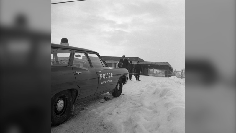 Police in London search for Jackie English's killer (Courtesy: Western University Archives)
