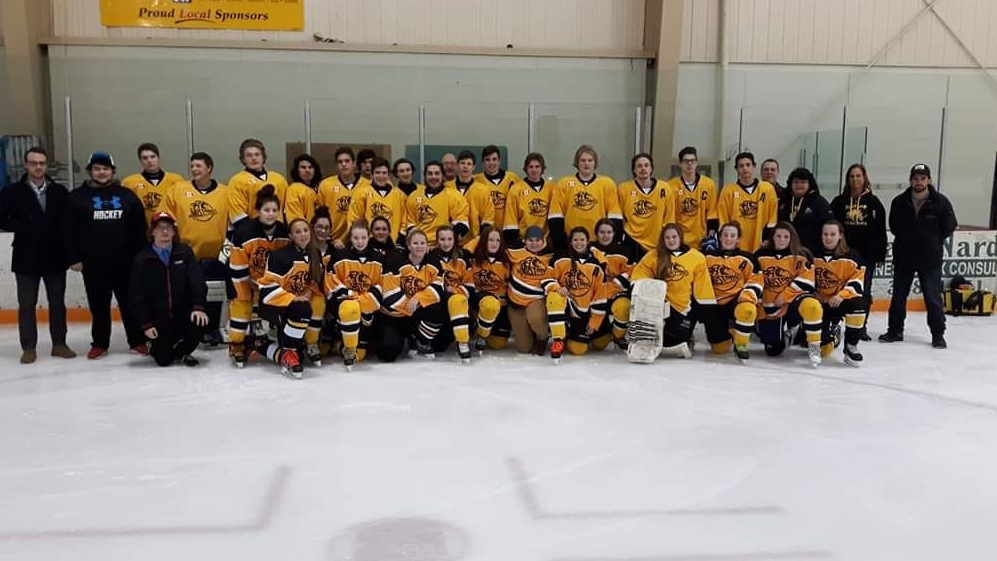 Manitoulin hockey team