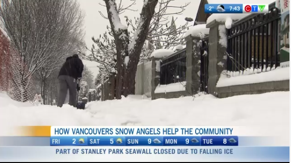 Vancouver Snow Angels and how they are helping