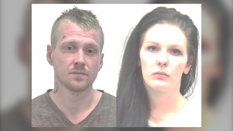 Warrants have been issued for the arrests of Garion Delday and Shannon Wright (CPS)